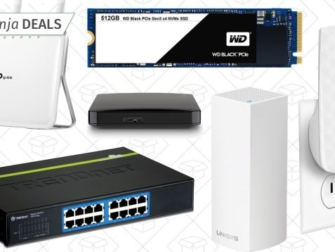 There's Something For Everyone In Amazon's Storage and Networking Gold Box
