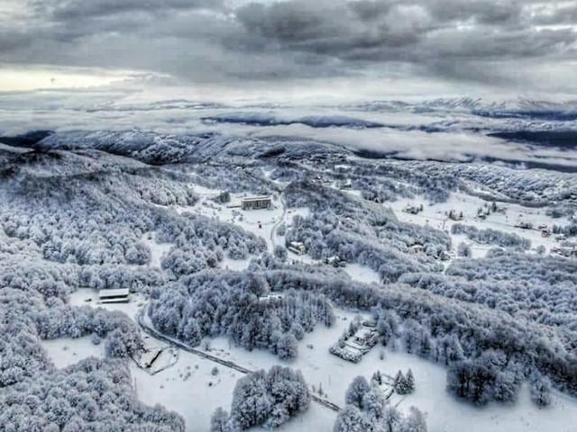 Risveglio gelido sui monti d'Abruzzo: a Marsia -22,5 gradi, -22,6 a Piani di Pezza