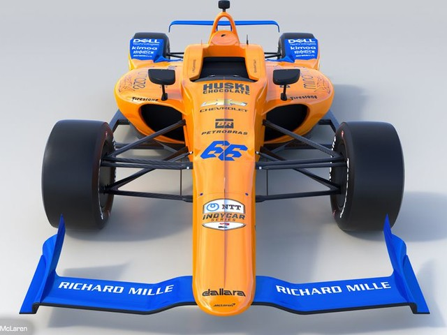 McLaren in Indycar Series nel 2020