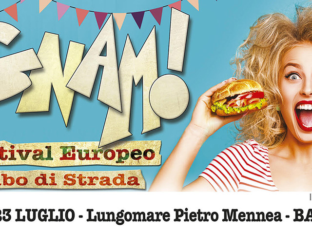 Barletta: Gnam!, festival europeo del cibo di strada La tappa in riva all'Adriatico da stasera