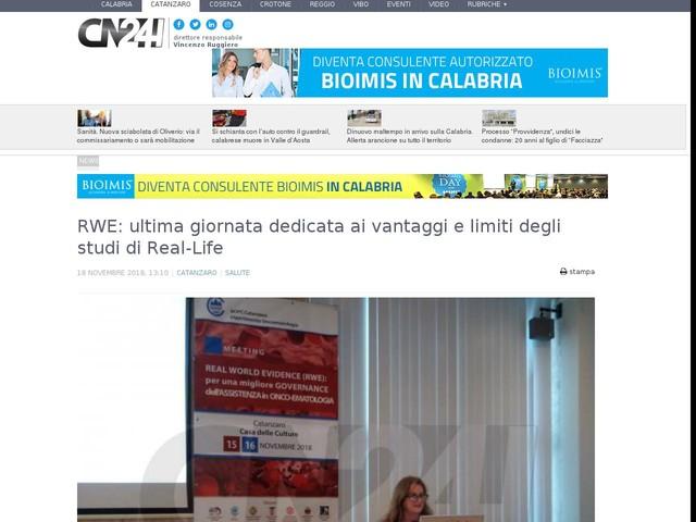 RWE: ultima giornata dedicata ai vantaggi e limiti degli studi di Real-Life