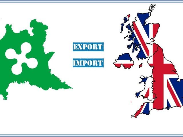 Brexit: Lombardia- Regno Unito scambi da 7 mld in primi 9 mesi 2018