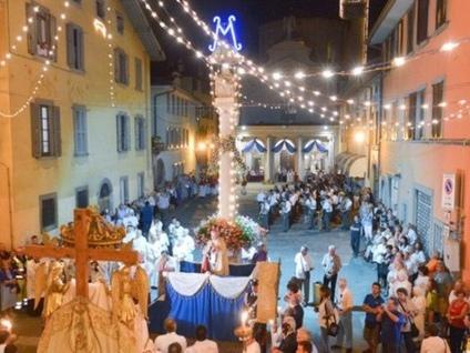 Il Borgo d'Oro da domani in festa Quest'anno le pitture dei Madonnari