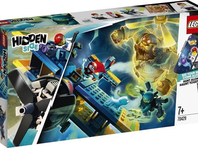 Prime immagini dei nuovi set LEGO Hidden Side per il 2020