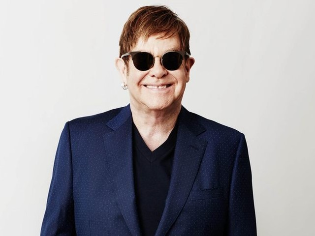 Elton John il 7 luglio 2019 al Lucca Summer Festival