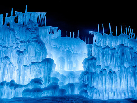 Construction Begins On Massive New Hampshire Ice Castles