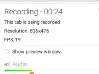 Registrare audio e video su Chrome di siti e desktop, anche con webcam e microfono