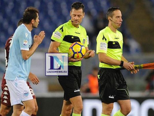 """PAGELLE. Lazio-Torino, la """"provocazione"""" di Paolo Cericola"""