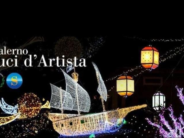 Salerno, Luci d'Artista 2021: spunta la data dell'inaugurazione