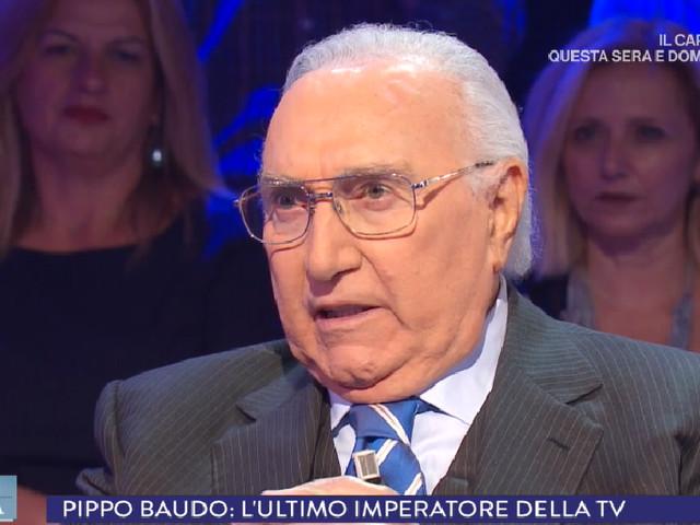 """Pippo Baudo: """"Nel 2019 compio 60 anni di televisione"""""""