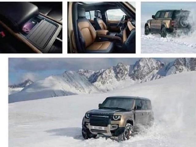Nuova Land Rover Defender: trapelano le prime immagini del nuovo modello