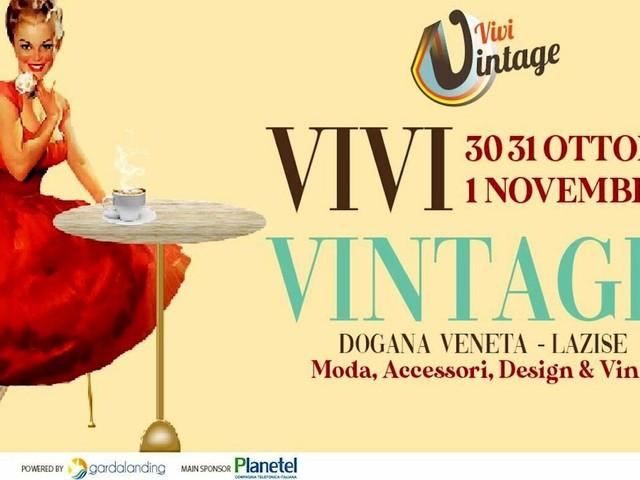 """Alla Dogana Veneta di Lazise la grade mostra-mercato """"Vivi Vintage"""""""