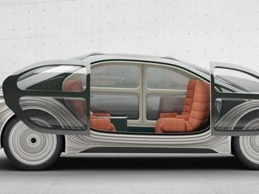 Airo, l'auto che pulisce l'aria e si trasforma in letto matrimoniale