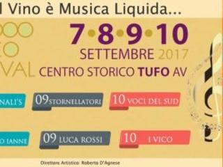 Al via il week end con il *Tufo Greco Festival edizione 2017*