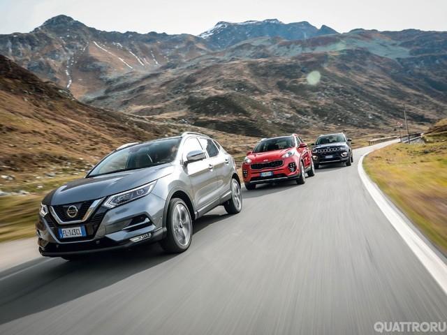 Europa - Le auto più diffuse Paese per Paese - FOTO GALLERY