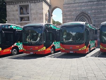 Con 16 nuovi bus Byd Messina è la città più elettrica d'Italia