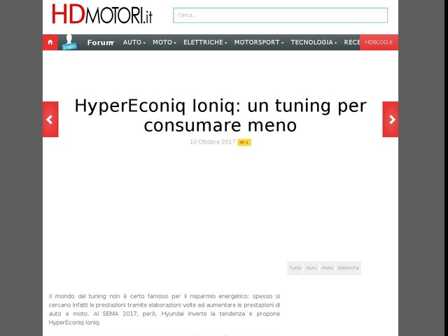 HyperEconiq Ioniq: un tuning per consumare meno