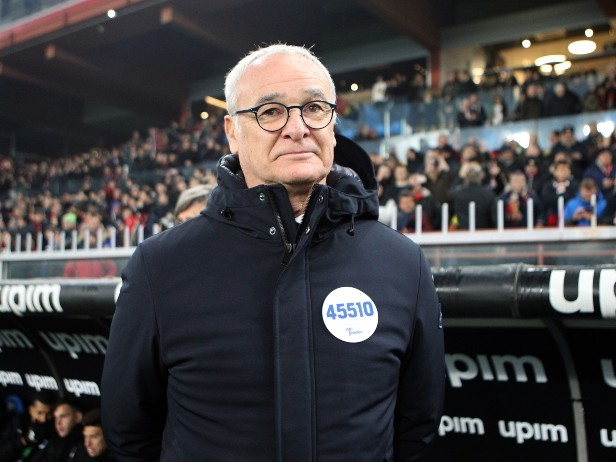 """Genoa-Samp, Ranieri: """"Vittoria che vale doppio, ma c'è ancora da soffrire"""""""