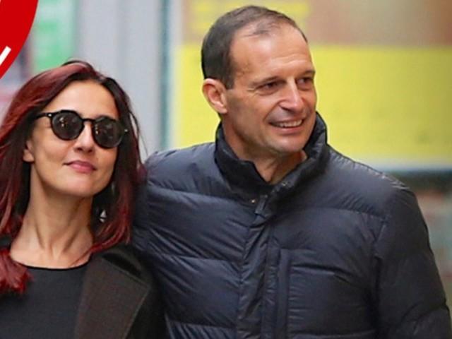 """Allegri è convinto: """"Sposo Ambra Angiolini"""""""