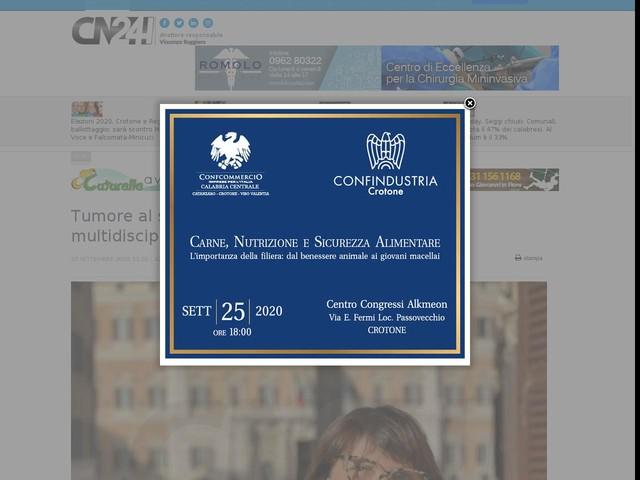 Tumore al seno, in Calabria la rete Breast Unit: multidisciplinarietà e competenza