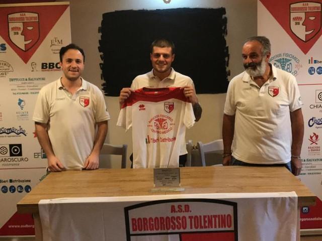 Calcio a 5, il Borgorosso Tolentino riparte da Matteo Nunzi