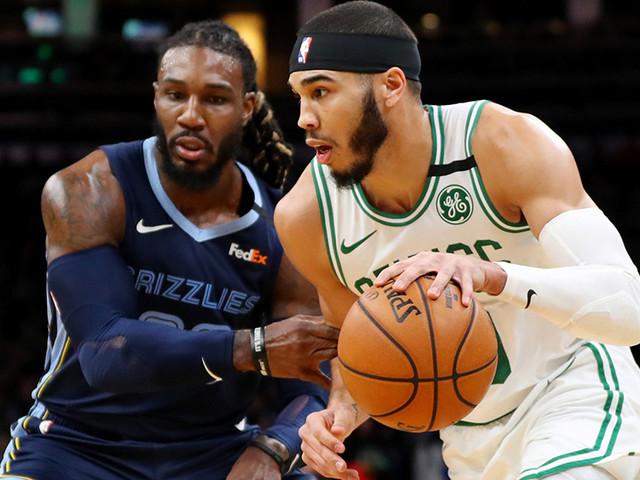 Tatum Scores 23 Before Injury, Celtics Down Grizzlies 119-95