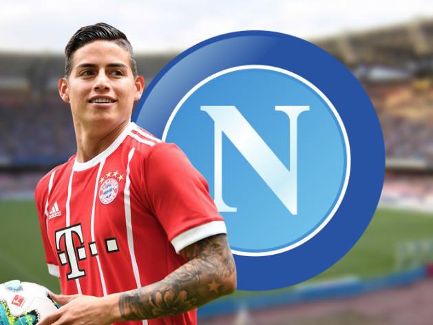 GdS – Trattativa ad oltranza per James al Napoli: si attende soltanto la decisione del Real Madrid