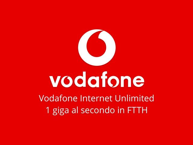 Vodafone Internet Unlimited. L'offerta vodafone fibra più conveniente del momento
