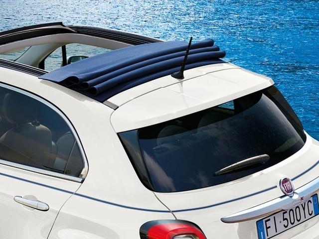 Fiat 500X, la serie speciale si guida a cielo aperto