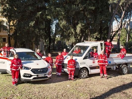 Kumho, Mak e Fintyre equipaggiano la Croce Rossa
