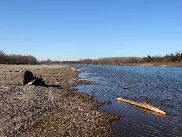 Temperature alte e piogge assenti: inverno rischio secca per il Po