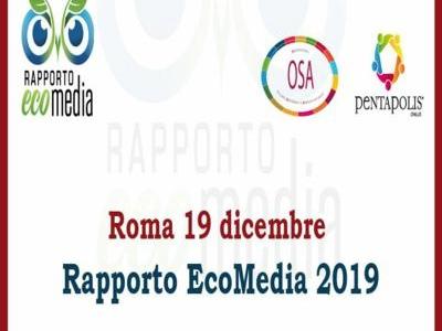 """Tutto pronto per il nuovo rapporto Eco-Media e il premio """"Giornalisti per la sostenibilità"""""""