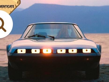NSU Trapeze, un po' Lancia Stratos, un po' Mazda RX-7
