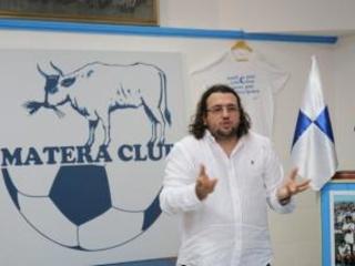 Matera calcio, il patron Columella promuove il nuovo gruppo: «Adesso c'è un'aria differente nello spogliatoio»