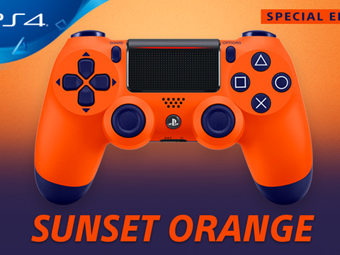 PlayStation 4: presentato il nuovo Dualshock 4 Sunset Orange