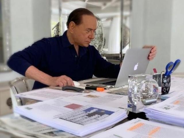 """Berlusconi: """"Noi alternativi a Conte Ora serve il patto fiscale"""""""