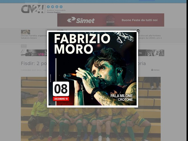 Fisdir: 2 posto al Torneo delle Regioni per la Calabria