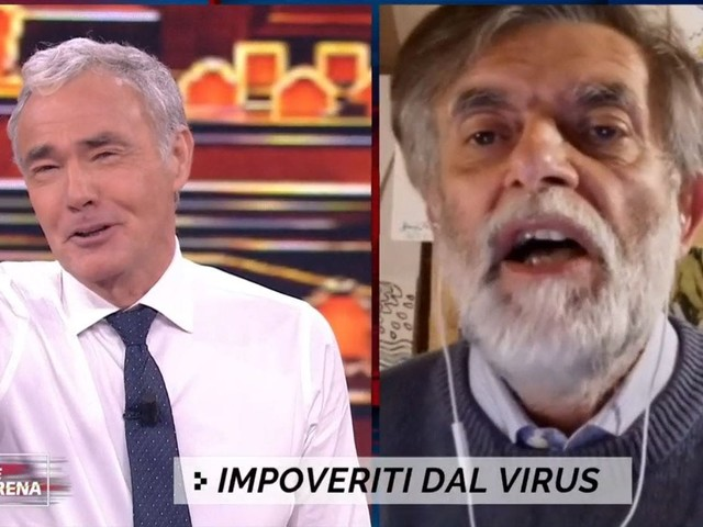 Non è L'Arena, Jacopo Fo: «A chi devo praticare un rapporto orale per lavorare in Rai?». E Giletti… – Video