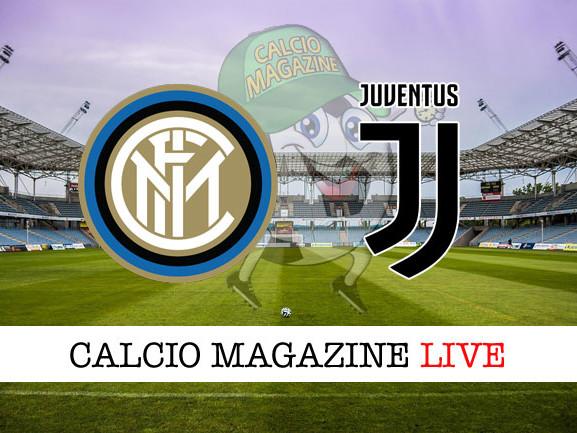Coppa Italia, Inter – Juventus: cronaca diretta live, risultato in tempo reale