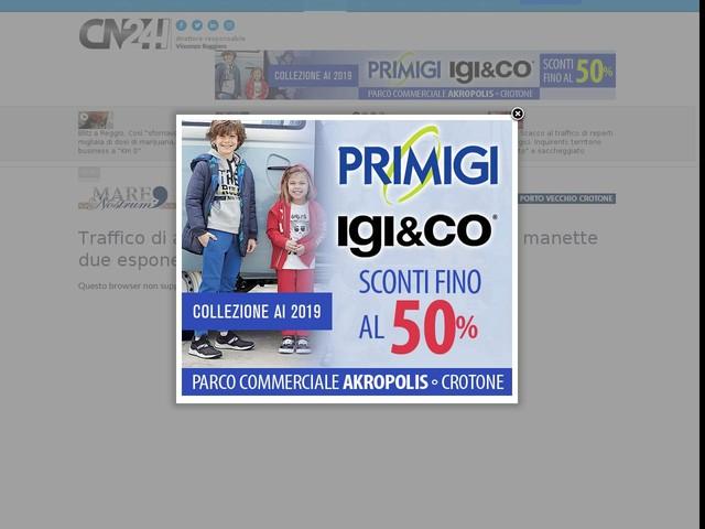 Traffico di armi tra clan pugliesi e 'ndrangheta: in manette due esponenti dei Pesce-Bellocco