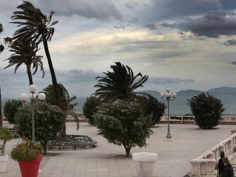 Maestrale a 60 km/ora, alto rischio incendi in Sardegna
