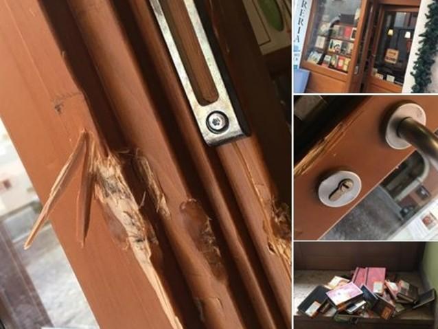 Raid ladresco a Sardagna molte porte sfondate con il piede di porco