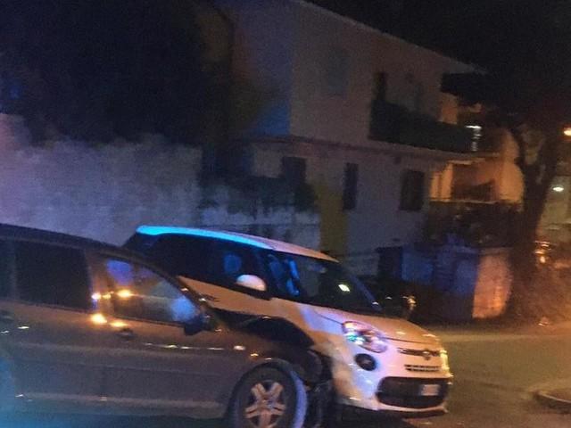 Corridonia, scontro tra due auto in via Grazie