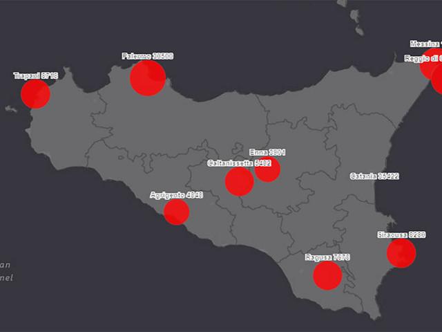 In Sicilia è boom contagi, sono 1.641 e a Palermo la protesta contro zona rossa