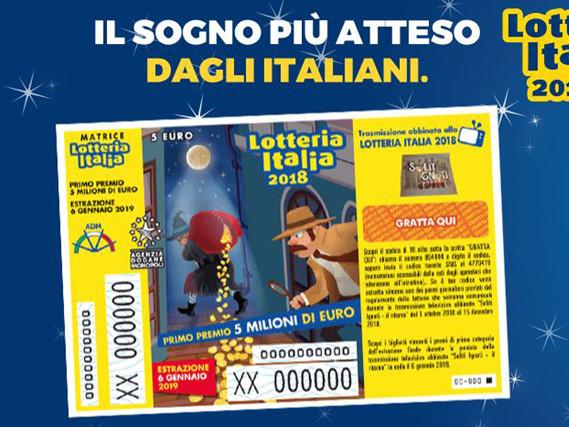 Lotteria Italia 2019, biglietti vincenti: estrazione in diretta, premi di prima, seconda e terza categoria