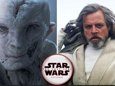 Star Wars 8: un trailer internazionale rivela spoiler su Luke e Snoke?