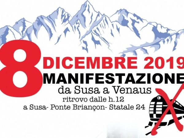 No Tav: marcia Susa-Venaus l'8 dicembre, aderisce anche Legambiente