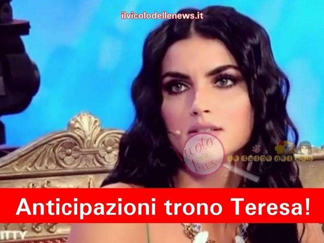 Anticipazioni Uomini e Donne – trono di Teresa Langella: la bat-talpa aggiunge succosi dettagli alla registrazione del 07.12.18