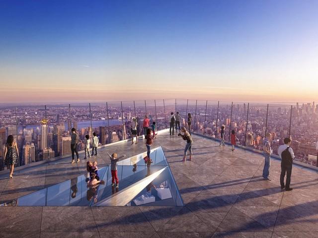 """""""The Edge"""", la terrazza sul vuoto a New York"""