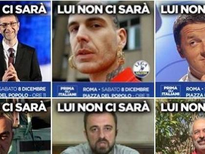 """Ieri Roma ladrona, oggi rapper e giornalisti, i nemici """"necessari"""" della Lega"""